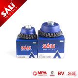 150mm la eliminación de manchas de óxido pintura Cepillo de alambre redondo trenzado