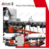 Wiederverwertung der überschüssigen Plastikfilm-Pelletisierung-Zeile mit Agglomerator