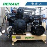 de Compressor van de Lucht van de Zuiger 30bar 0.8m3/Min voor de Mariene Motor die van het Begin wordt gebruikt