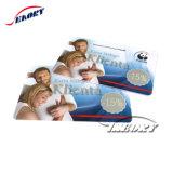 Cartão de PVC branco personalizadas Cartão de identidade do aluno