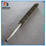 Fil serti abrasif extérieur de ronde pinceau en spirale de la bobine de bonne qualité