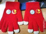 Перчатки Knit изготовленный на заказ зимы акриловые с печатью передачи тепла