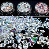 Mixed ongles nail art décorations strass perles DIY 3D Coffret à Bijoux Ongles beauté décoration ongles nail art (NA002)