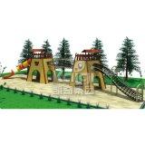 Strumentazione esterna del campo da giuoco dei bambini di legno di serie di Kaiqi (KQ60073A)
