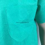 No tejido de polipropileno desechable bata quirúrgica