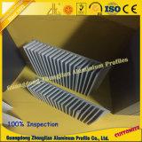 Perfil de aluminio modificado para requisitos particulares del disipador de calor para la industria