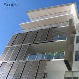 Extérieur coulissant d'aluminium d'obturateur d'aluminium glissant des portes d'auvent