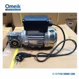 Ce approuvé 0,18KW Alu carter moteur électrique monophasé