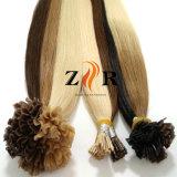 Extensão pre lig brasileira barata do cabelo humano da ponta da queratina de Remy do Virgin
