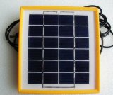 6V 2W 휴대용 광전지 태양 전지판