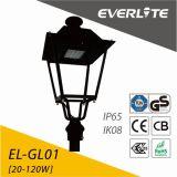 Carcaça de alumínio 60W LED de iluminação de exterior LED luz de Jardim