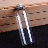 [250مل] محبوبة زجاجة مستديرة بلاستيكيّة مع ألومنيوم غطاء