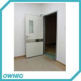Puerta de oscilación manual de alto Quanlity y del precio razonable con el muelle de puerta