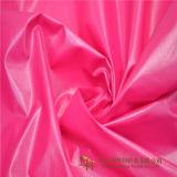 Poliuretano brillante nylon impermeable de tafetán tejido de revestimiento, prendas de vestir traje, chaqueta de abajo y la prueba de untar