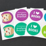 Druk de van uitstekende kwaliteit van het Boek van de Sticker van de Jonge geitjes van de Baby van de Douane