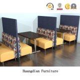 차리는 현대 주문품 대중음식점 가구 부스 착석 및 테이블 (HD1663)