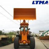 Strumentazione pesante della Cina caricatore della rotella da 6 tonnellate con il motore (di weichai)