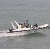Migliori barche gonfiabili rigide di Liya 20FT fatte in Cina