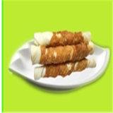 Alimento de animal doméstico verdadero a granel del buñuelo del cuero crudo del abrigo del pollo de la naturaleza del alimento de perro