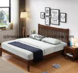 Цельная древесина дуба двуспальная кровать мебель современная кровать (M-X3852)