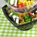 Heißer Verkaufs-freier/transparenter Nahrungsmittelgrad-Plastikbehälter/saugfähige Fleisch-Auflagen