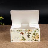 Diseño simple papel de impresión colorida caja cuadrada para té y café.