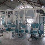 linha de processamento da farinha de milho do moedor do moinho do milho 1t/H