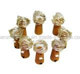 Dekorativer bunter LED Flaschen-Stopper des Soem-heißen Verkaufs-