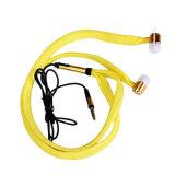 다채로운 1.2m 셀룰라 전화를 위한 레이스에 의하여 타전되는 이어폰 땋는 에서 귀