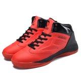 Großhandelsunisex schnüren sich oben Gummisport-Sohle-Basketball-Sport-Schuhe