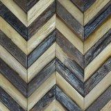 フォーシャンの製造者の高品質の寄木細工の床パターンデザイン古い船木モザイク