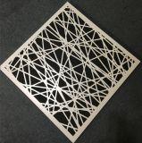 Потолок панели украшения горячего вырезывания лазера сбывания алюминиевый