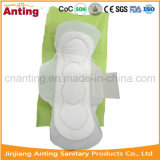 Салфетки Wingless хлопка свободно образца размера OEM санитарные в большом части