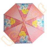 Character Small 3D Poe Clear Transparent Umbrellas for Kids