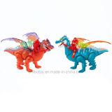 giocattolo meccanico elettrico di Musical del dinosauro di battaglia 3D