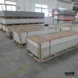 Surface solide acrylique de couleur veinée par 6mm de Kkr pour le mur (M170831)
