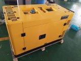 Air-Cooled тепловозный генератор 12kw (молчком) однофазный