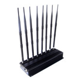 8 High-Power antenas WiFi/GPS/VHF/UHF Bloqueador de señal