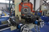 Machine de découpage hydraulique de pipe de commande numérique par ordinateur de Yj-425CNC 1200kg pour le tube en acier