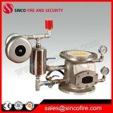 Válvula de verificación mojada de la alarma del hierro dúctil o del arrabio