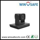 Skype en ligne parlent l'appareil-photo de l'appareil-photo USB de vidéoconférence avec le microphone