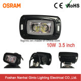 10W campo a través 3.5inch vacian la luz del trabajo de Osram LED del montaje (GT1012A-10W)