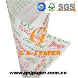 La mejor calidad Buen Precio imprimir papel de embalaje de Burger envoltura