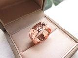 De Ring van Jesus Fashion Jewellery Holly Christian in Roze Goud