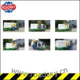 De elektrische zelf-Draait ZijVrachtwagen van het Afval van de Vuilnisauto van het Afval van de Lading