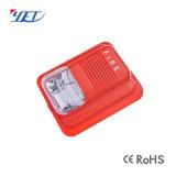 De draadloze GSM Sensor PIR/Door van het Systeem van het Alarm van de Veiligheid van de Aanraking van het Huis Slimme met de Externe Lichte Sirene Yet619 van de Stroboscoop van de Flits