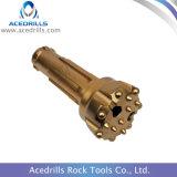 A mineração utiliza ferramentas o bit de broca elevado da rocha da tecla da pressão de ar DTH