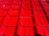 Panneau de toit de PPGI/PPGL/toiture en acier ondulés en métal pour le Chili