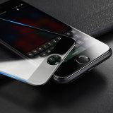 protecteur d'écran en verre de pleine couverture du bord 4dcurved pour iPhone7 plus