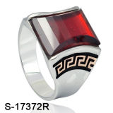 De nieuwe Ring van de Juwelen van het Ontwerp Zilveren voor de Levering voor doorverkoop van de Fabriek van Mensen